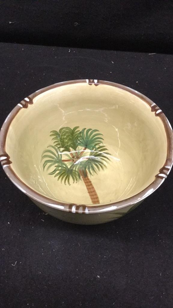 Set of 6 Decorative Art Bowls - 9