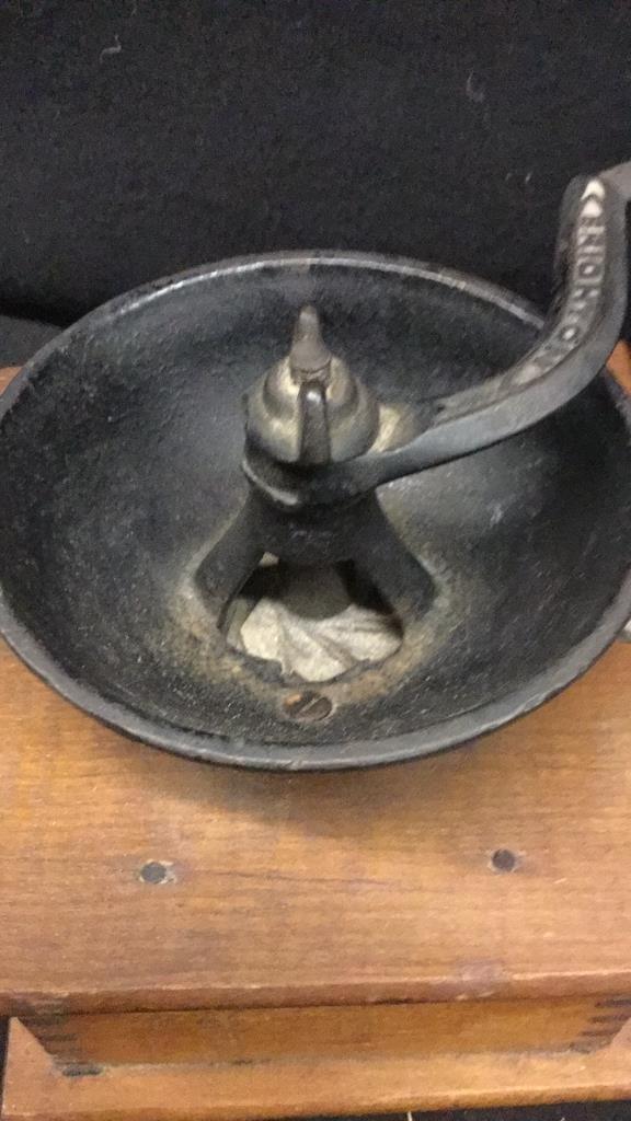 Antique Coffee Grinder - 6