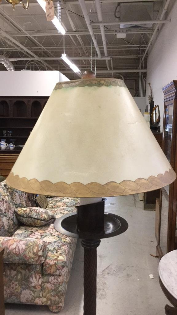Mid Century Modern Rod Iron Decorative Lamp - 5