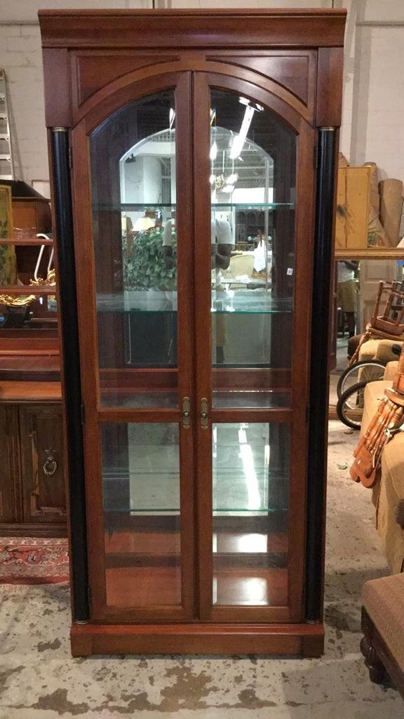 Ethan AllenMid Century Modern Glass Display Case - 2