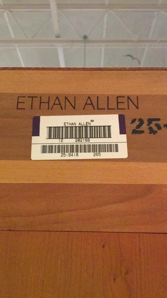 Ethan AllenMid Century Modern Glass Display Case - 6