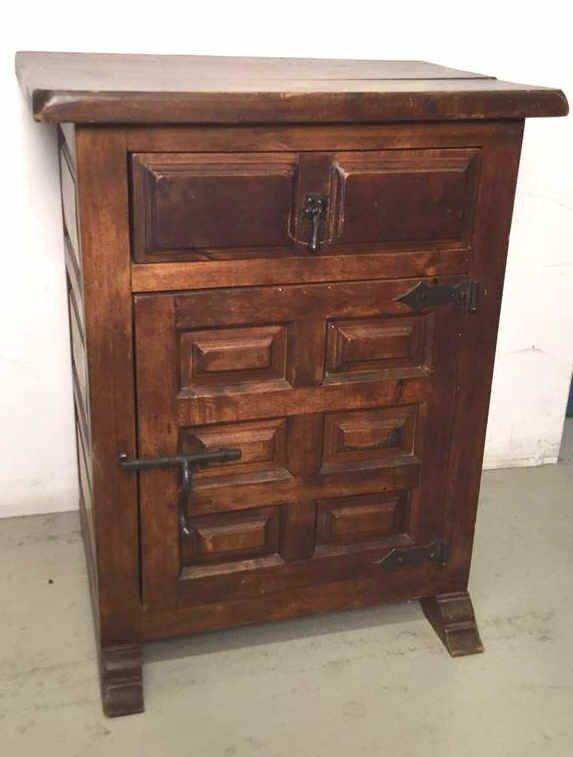Antique Mahogany Nightstand