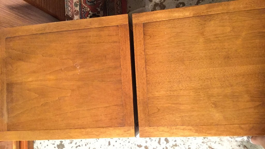 Pair Mid Century FANCHER Night Tables - 7