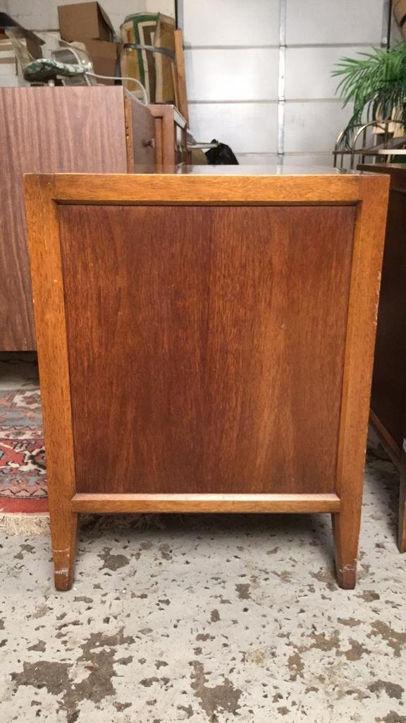 Pair Mid Century FANCHER Night Tables - 8