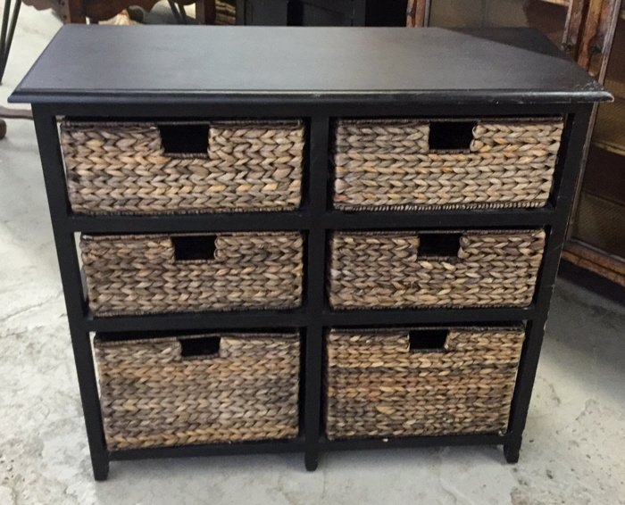PIER ONE style File and Storage and Drawers