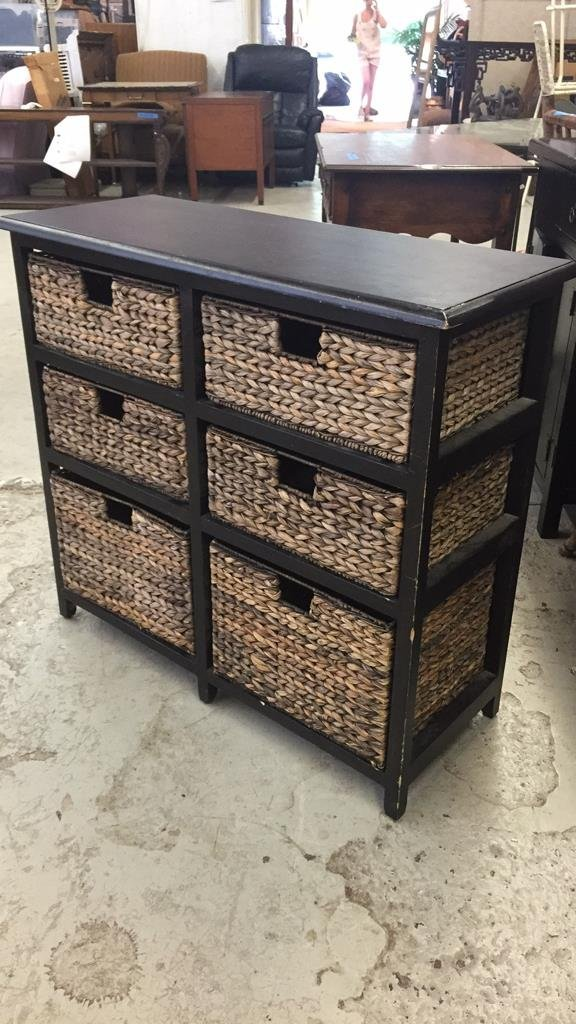 PIER ONE style File and Storage and Drawers - 2