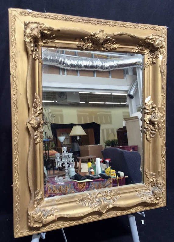Antique Guilded Wall Mirror