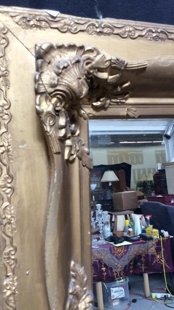 Antique Guilded Wall Mirror - 2