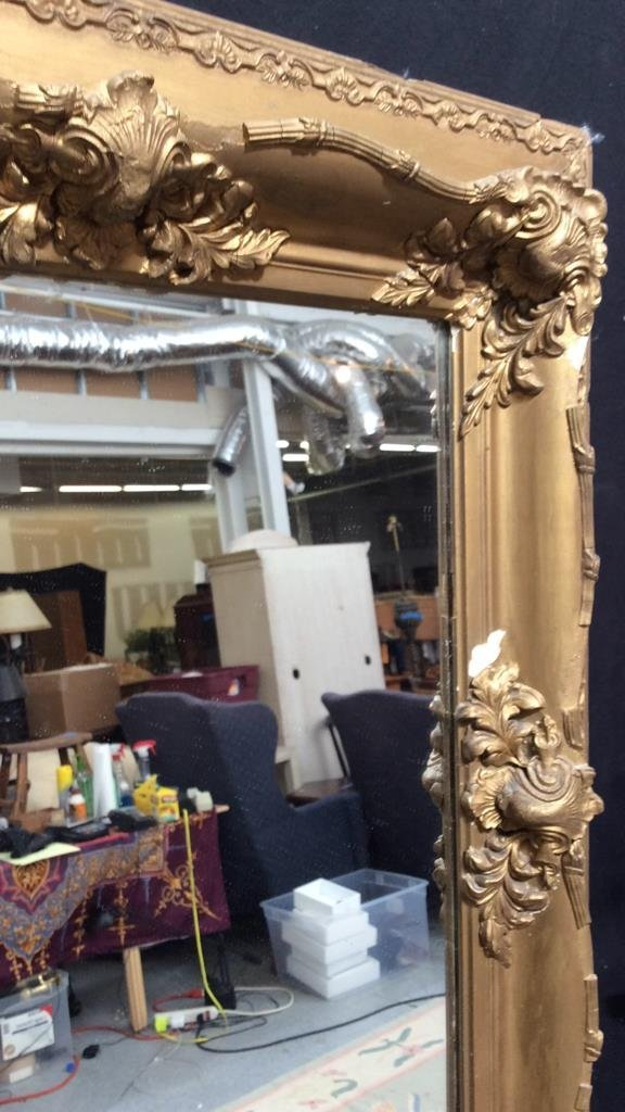 Antique Guilded Wall Mirror - 3