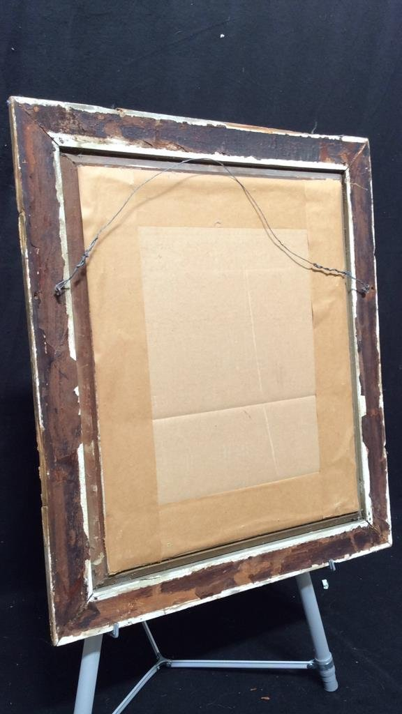 Antique Guilded Wall Mirror - 5
