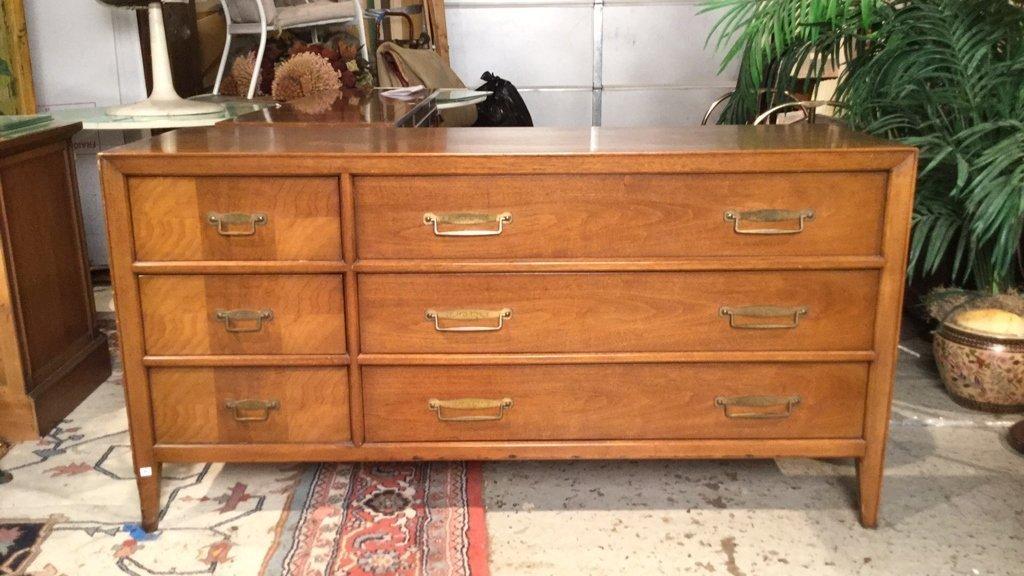 FRANCHER Mid Century Modern Dresser 6 Drawers