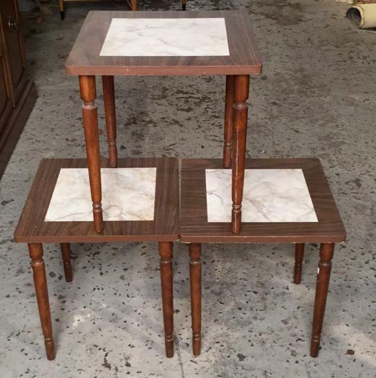 3 Matching Mini Tables