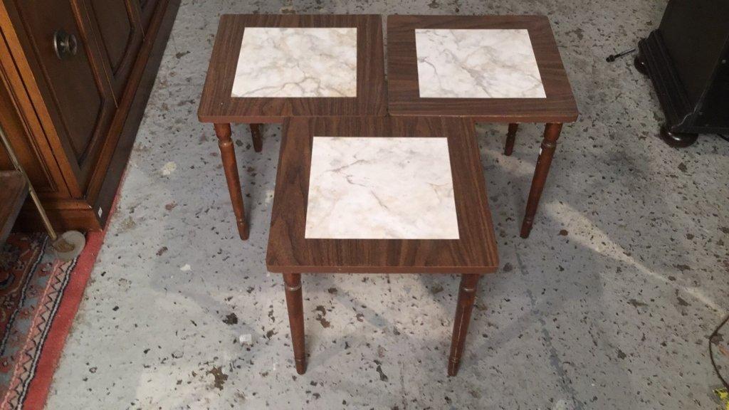 3 Matching Mini Tables - 2