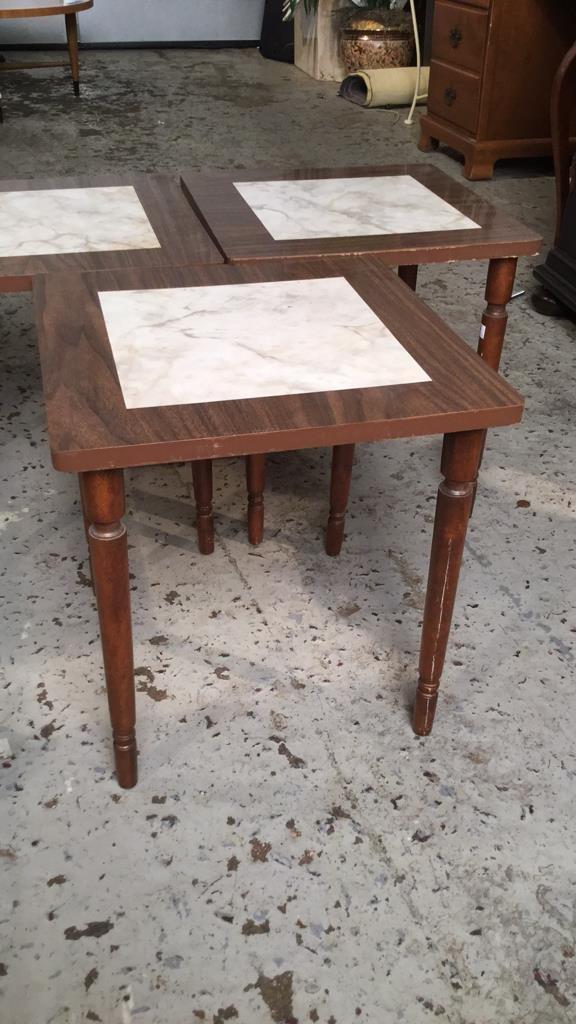 3 Matching Mini Tables - 3