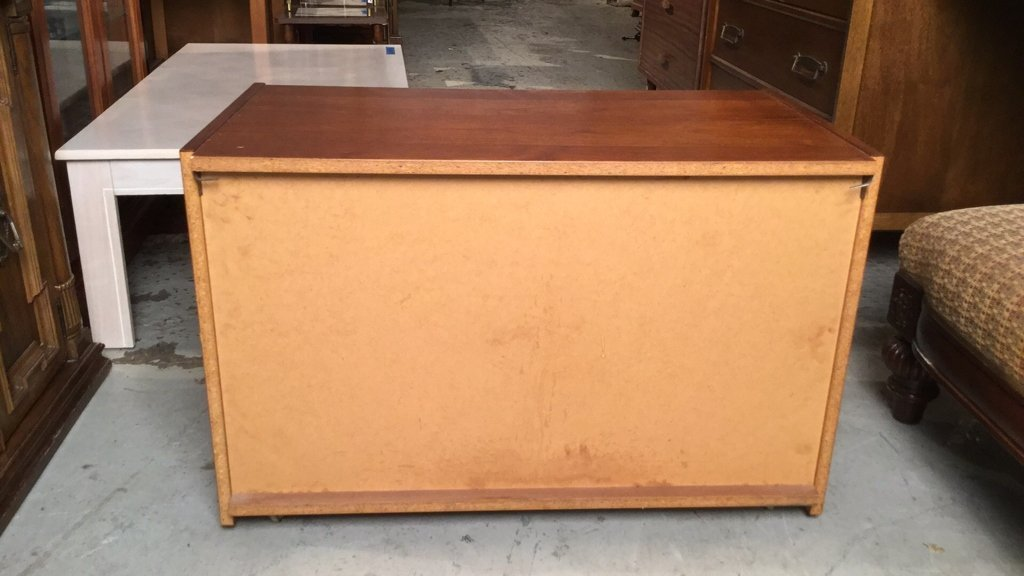 Mid Century Modern Cabinet on Casters - 7