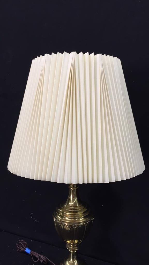 Vintage Brass Lamp - 2