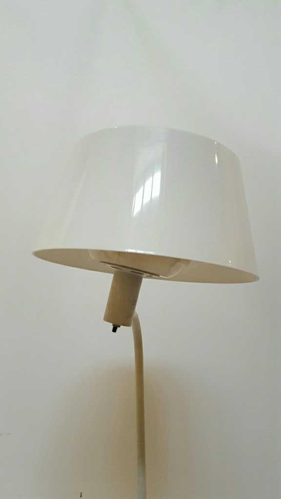 White Metal Floor Lamp - 2