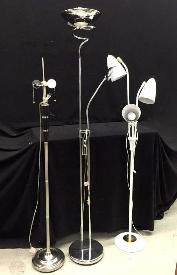 3 Piece Tall Lamp Set
