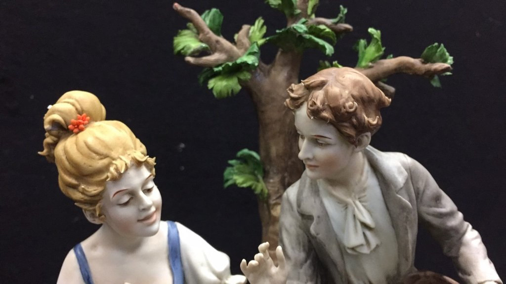 TRIADS Signed Stamped Figurine - 2