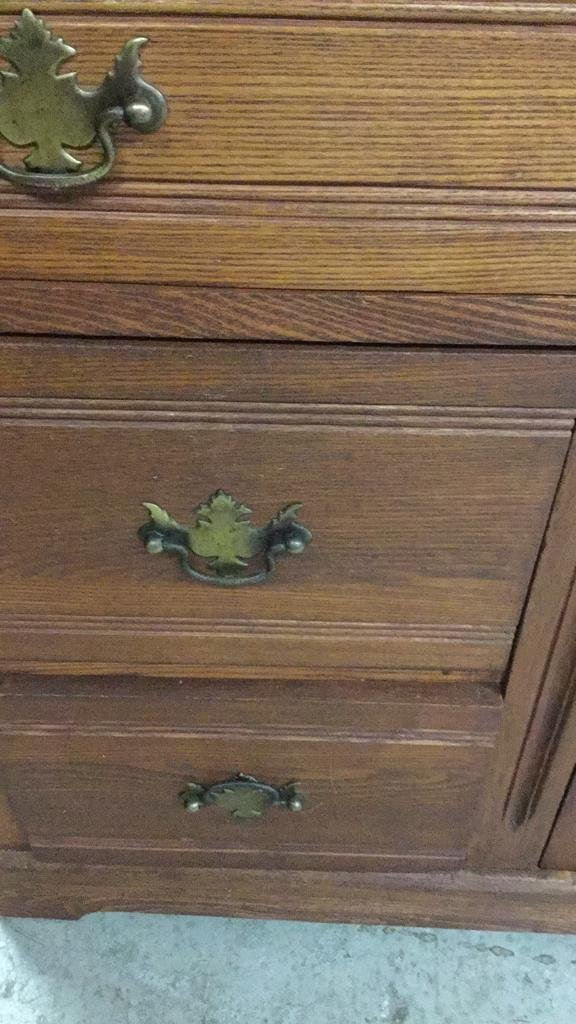 Vintage Country Style Cabinet - 4
