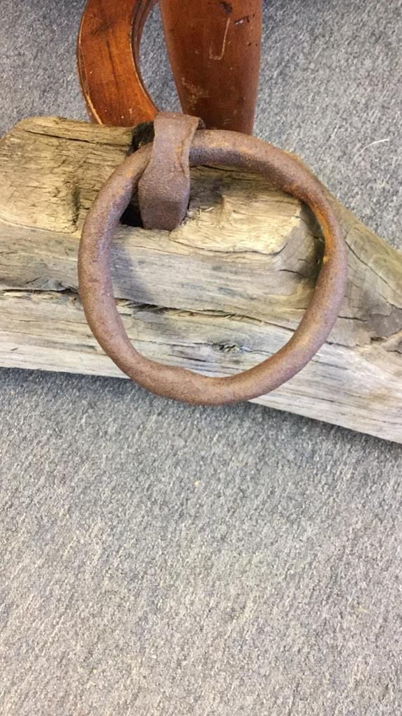 Antique Old Farm Cattle Plow Harness - 3