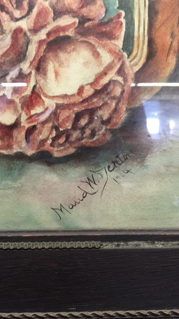 Illegibly Signed Water Color Painting - 3