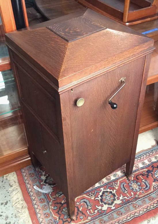Vintage Wooden Record Player