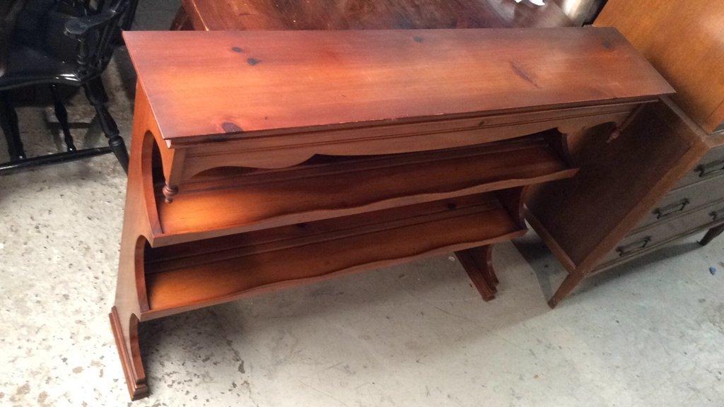 Mid Century Modern Wood Shelving - 3