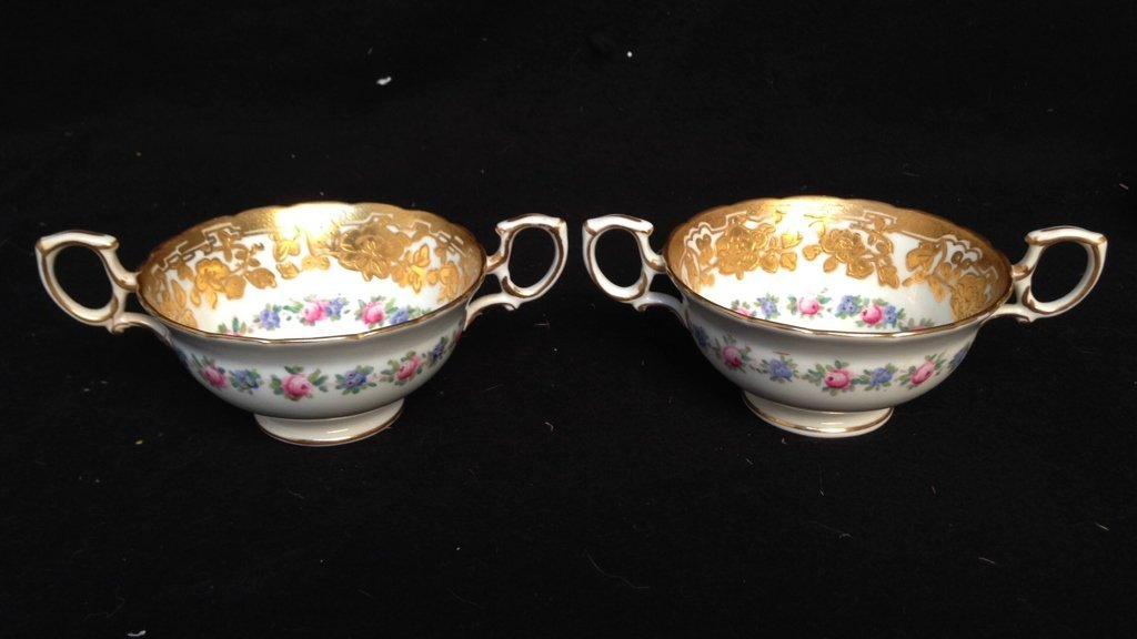 Pair HAMMERSLEY & Co. Tea Cups