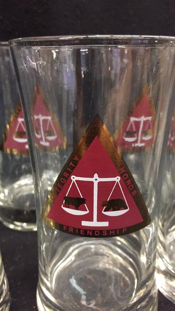 25 Piece Corporation Bond Traders Club Glass Set - 7