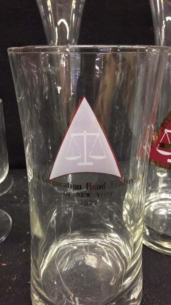 25 Piece Corporation Bond Traders Club Glass Set - 8