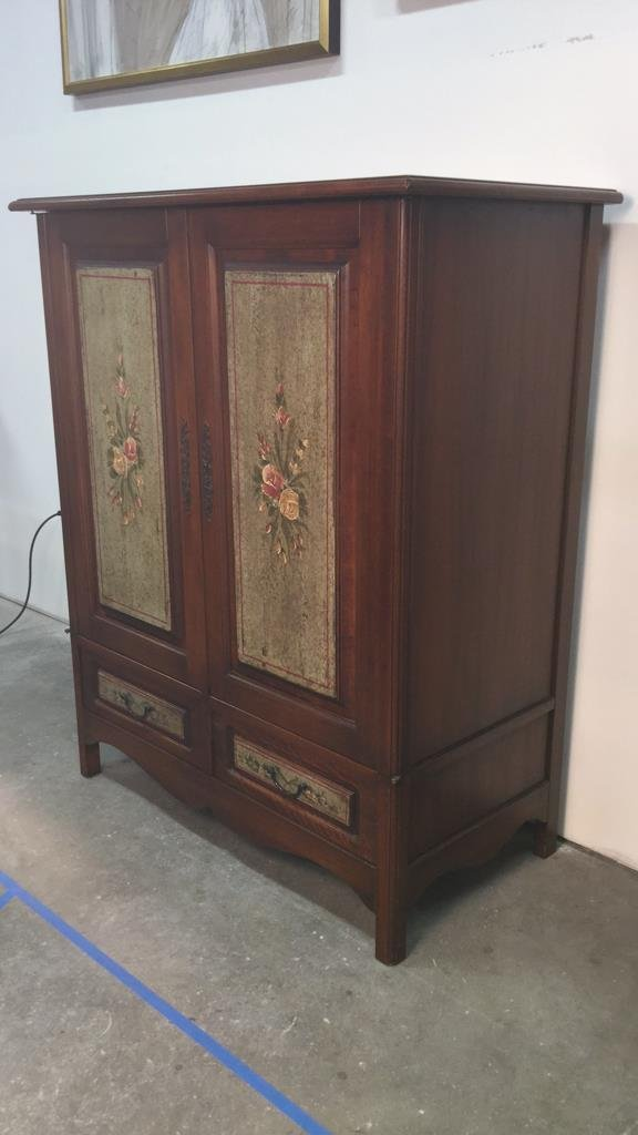Country French Wood Cabinet - 2
