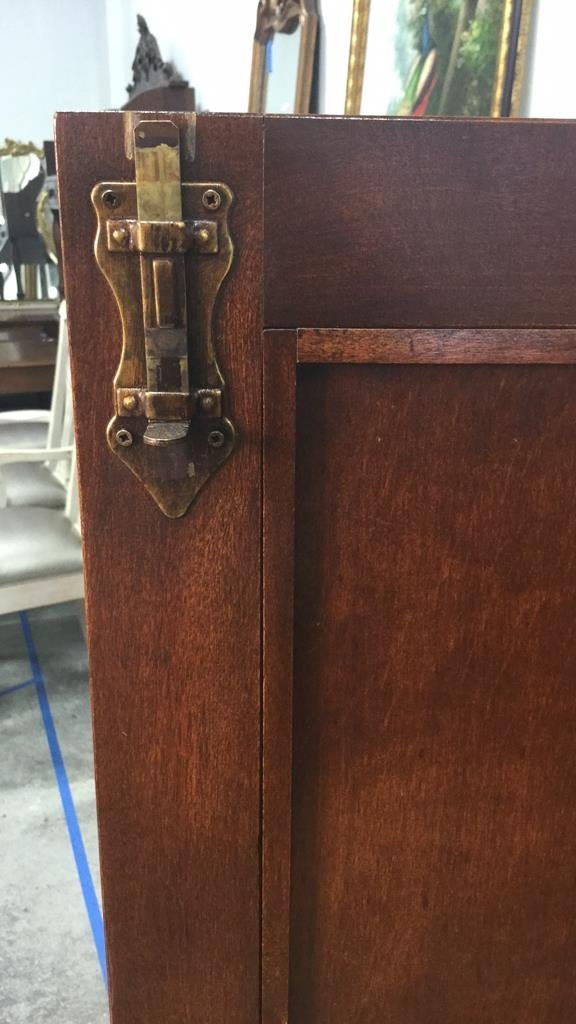 Country French Wood Cabinet - 9