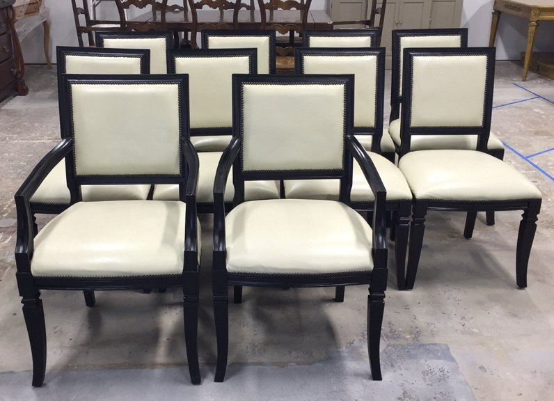 10 Dinning Room Chairs by Oly