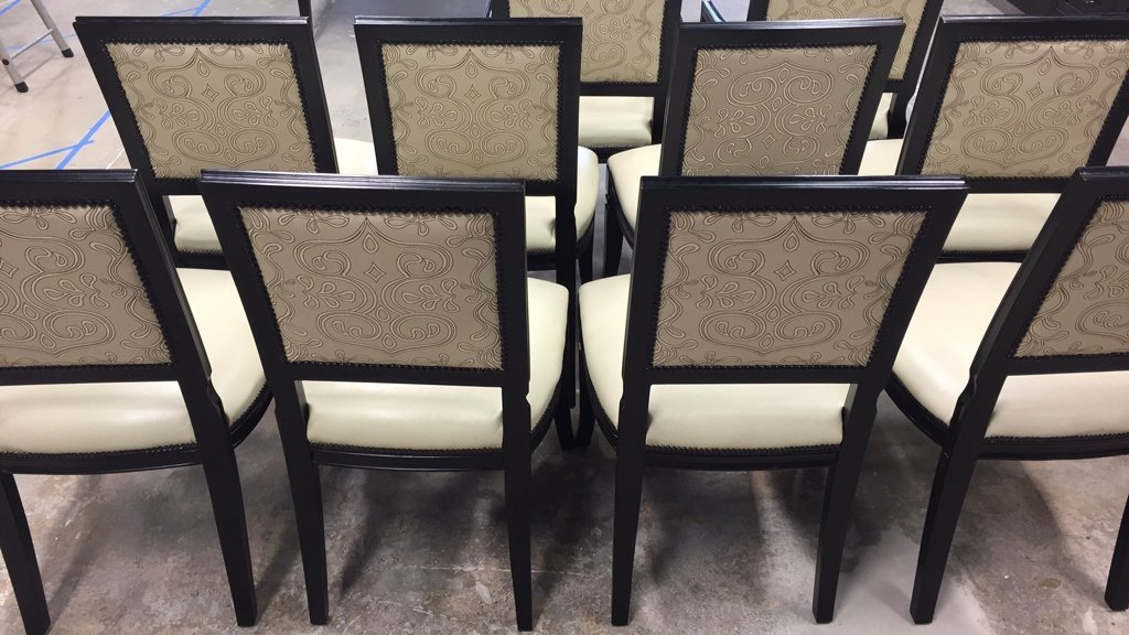 10 Dinning Room Chairs by Oly - 4