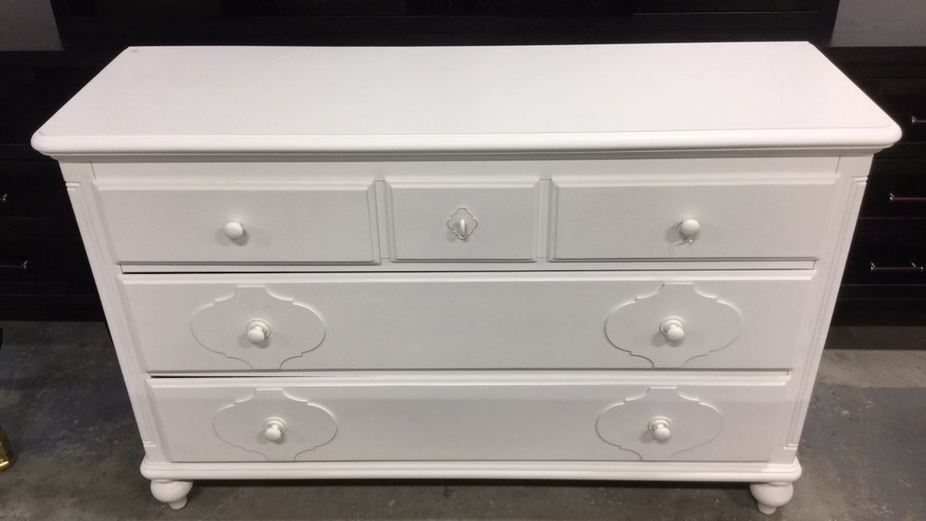 SMARTSTUFF White Painted Dresser Country Willow - 5