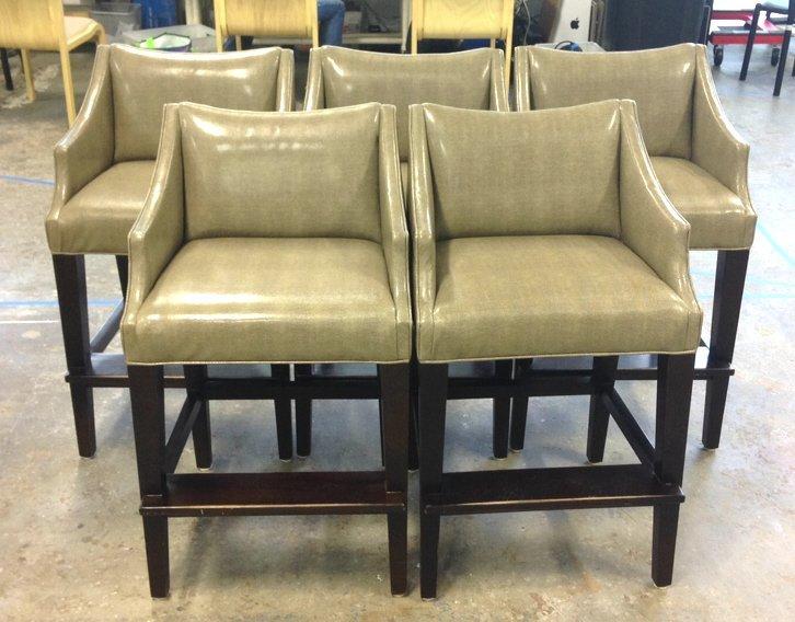 5 Upholstered Barstools