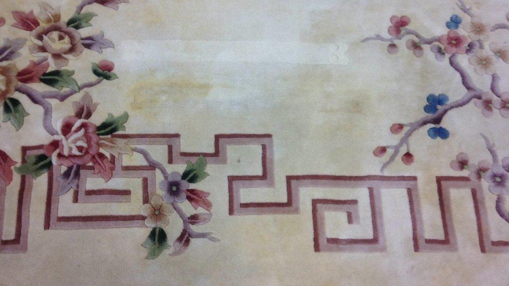 Asian Handmade Blossom Rug - 3