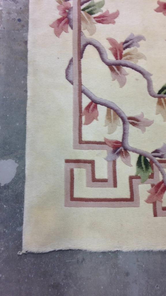 Asian Handmade Blossom Rug - 6