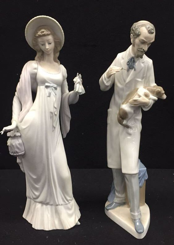 Set LLADRO Signed Hand Made in Spain