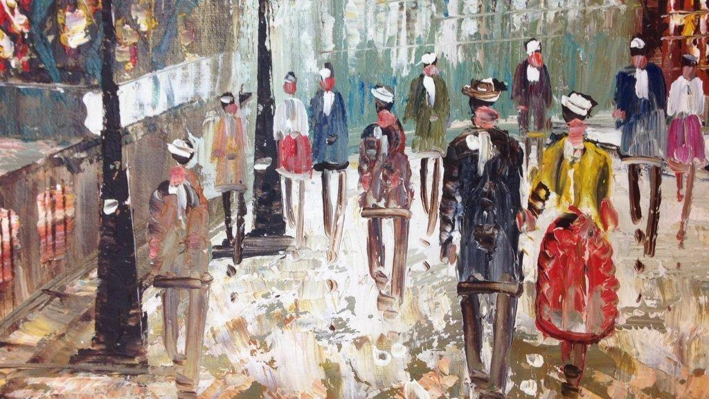 J. BARDOT Signed Painting - 3