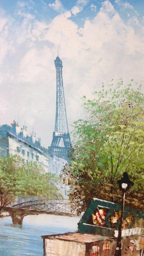 J. BARDOT Signed Painting - 4