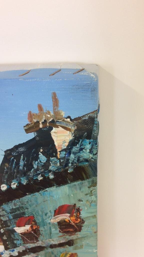 J. BARDOT Signed Painting - 5