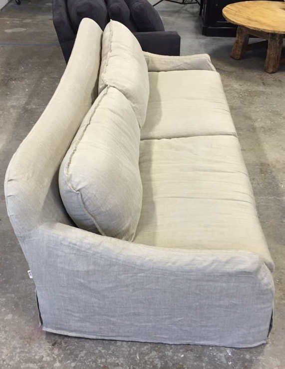 VERELLEN Slip Covered Appointed Sofa - 2