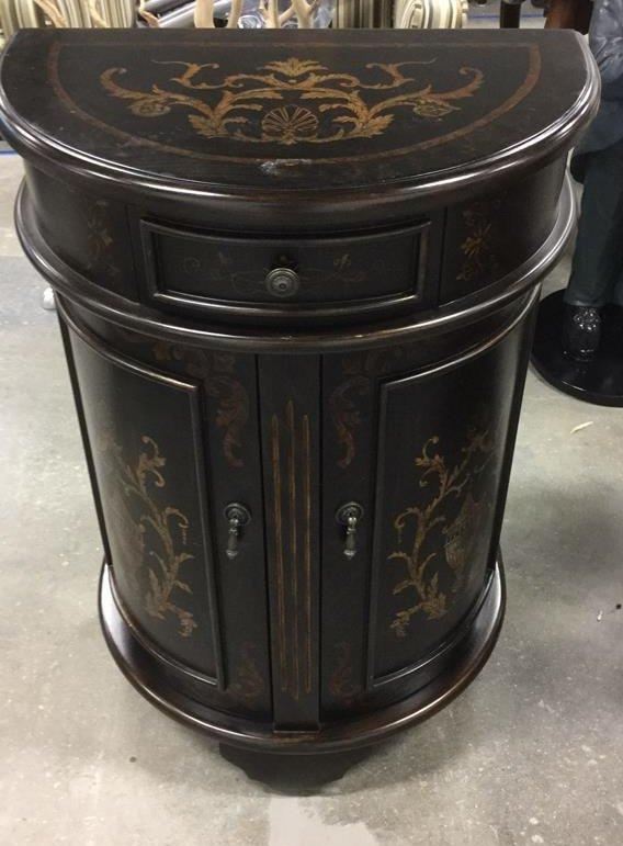 Mahogany Wood Side Dresser - 2