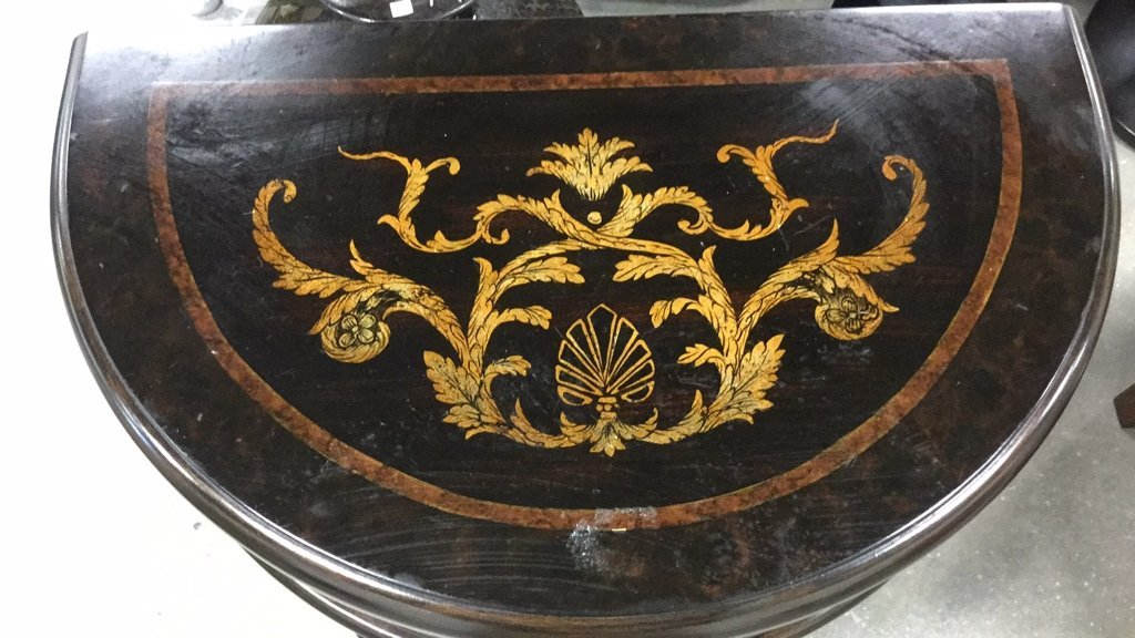 Mahogany Wood Side Dresser - 4