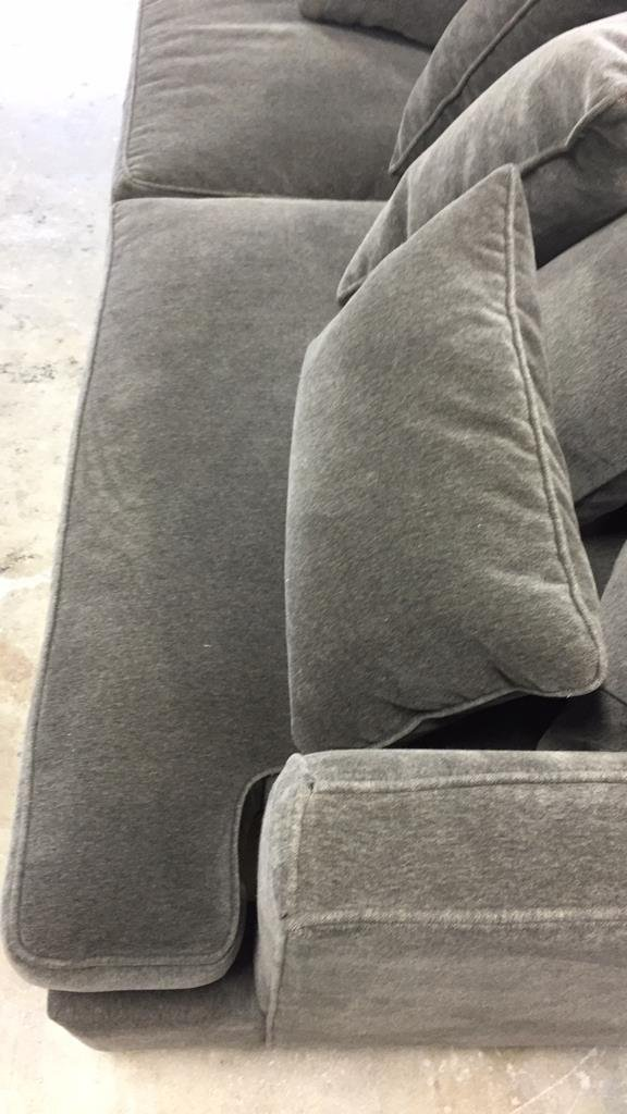 HICKORY CHAIR Soft Charcoal Sofa - 10
