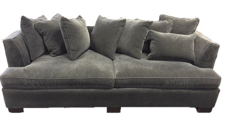 HICKORY CHAIR Soft Charcoal Sofa