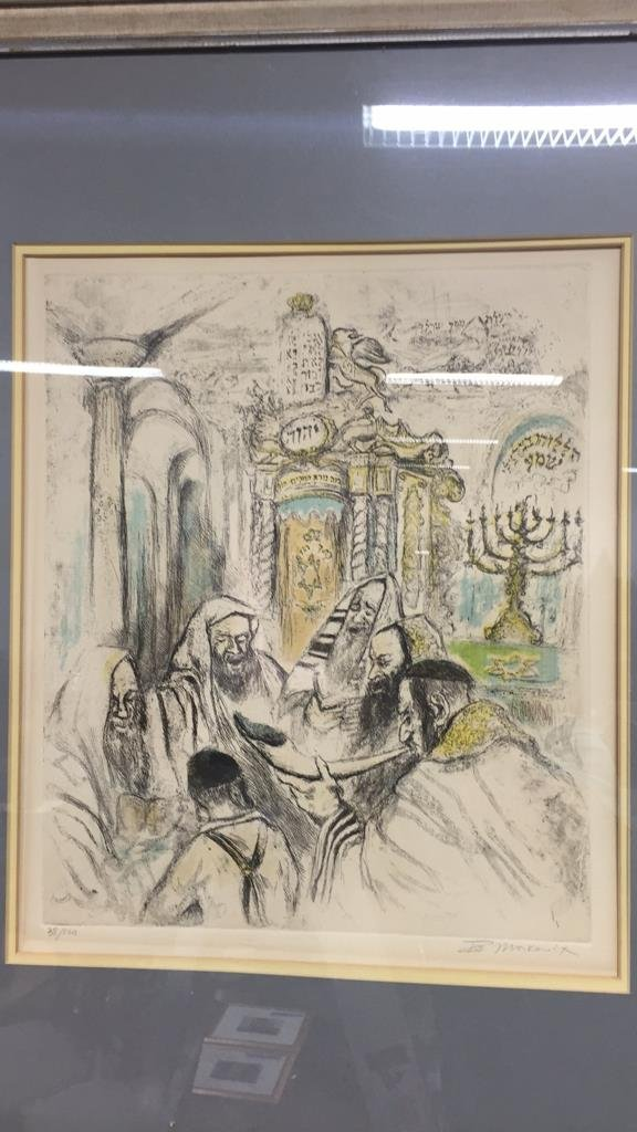 Religious Signed Artwork - 8