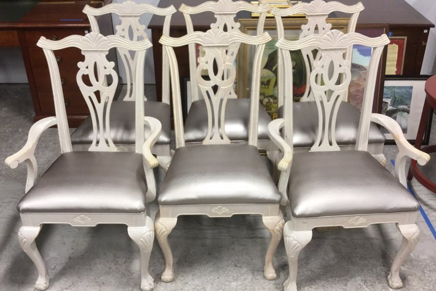 6 Decorative Dinning  Chairs